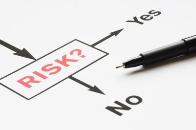 Yes No arrow risk
